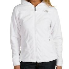 North Face Womens OSO Hoodie Fleece Jacket NWT Size XS & M TNF White
