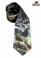 New Men's Mossy Oak Camo Long Tie Self Tie NeckTie Camouflage Outdoor Wedding