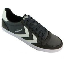 Hummel Slimmer Stadil Low Men's Castle Rock Slim Low Cut Lace Up Trainers New