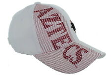 New! San Diego State Aztecs Adjustable Velcro Back Hat Embroidered Cap - White