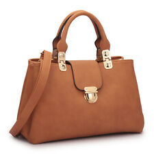 New Dasein Womens Handbags Leather Satchesl Tote Shoulder Bags Top Handle Purse