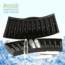 3D AK-47 Bullet Shaped Freezer Ice Cube Tray Plastic Pudding Mold Party Drink