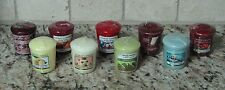 NEW Yankee Candle Votives - Pear, Cherry, Ocean, Strawberry - Buyer Picks!!!