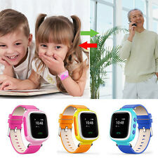 Portable Children Kids Smart Watch GPS Locator Tracker SOS Call Anti-Lost Watch
