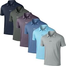 Oakley 2016 O-Hydrolix™ Roman Short Sleeve Mens Tailored Fit Golf Polo Shirt