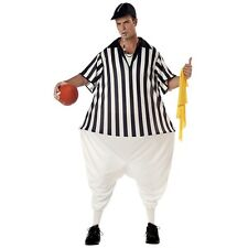 Adult Funny Umpire Referee Costume Halloween Sports Humour Birthday Party Outfit