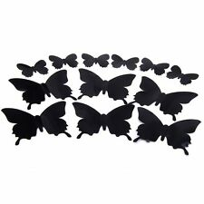 DIY 3D Butterfly Wall Sticker Art Decal Paper for Home Ornament AUS