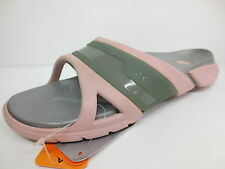 LADIES CROCS MULE IN COTTON CANDY/SILVER STYLE NAME PREPAIR SLIDE