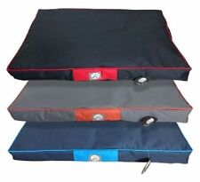 POOCH PRODUCTS PET BED IN BLUE, BLACK/RED & GREY/ORANGE STYLE - PE128530
