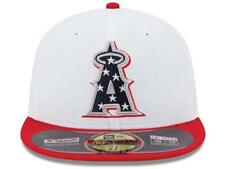 Los Angeles Anaheim Angels July 4th New Era 59Fifty Fitted Mesh Baseball Hat Cap