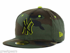New York Yankees Men New Era 59Fifty Fitted MLB Camo Camouflage Baseball Hat Cap