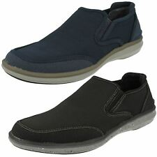 MENS MARK NASON FOR SKECHERS LEATHER/TEXTILE CASUAL SHOE STYLE - HELSTON