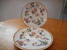 """Wedgwood TWO Devon Rose Georgetown Collection creamware 6"""" bread plates"""
