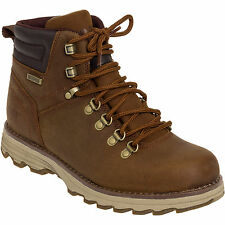 Caterpillar Men's Leather Sire WP Outdoor Hiking Work Boots