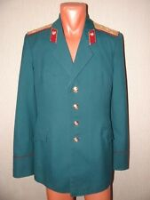 USSR Soviet army ceremonial  jacket Captain  MVD Internal troops maroon   198X