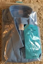 Boy's School Shirt 2 Pk By 'John Lewis' Colour Blue Age 16+ Collar 16.5