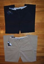 NWT Mens POLO RALPH LAUREN Relaxed Fit Flat Front Dress Pants Choose Size