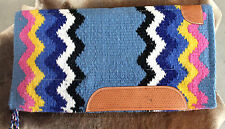 Wool Western Show Horse Trail SADDLE PAD Rodeo Blanket Tack  3863