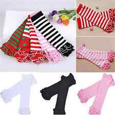 Warm Children Baby Girls Socks Leg Warmers Sock Kneepad Tight Stocking Socks FT