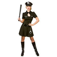 Ladies Naughty Officer Costume for Sexy Fancy Dress Womens