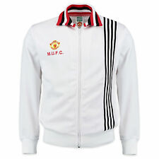 Manchester United FC Official Football Gift Mens 1977 Away Retro Track Jacket