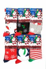 K163 BOYS GIRLS KIDS FESTIVE CHRISTMAS DESIGN SOCKS GIFT IDEA STOCKING FILLER