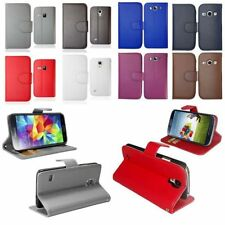 Magnetic PU Leather Wallet Flip Case Cover For Various Samsung Galaxy Phone