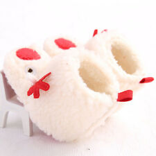 Baby Toddler Snow Boots Soft Sole Prewalker Crib Shoes Warm Christmas Kids Gift