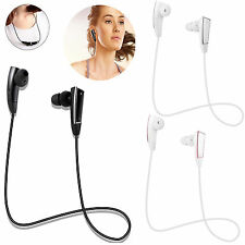 Wireless Bluetooth Headset Stereo Music Headphone With MIC For iPhone Samsung PC