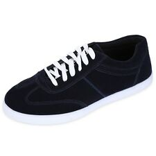 Mens Canvas Fashion Shoes Plimsolls Sneakers Casual lace-up Flat Trainer AAU