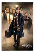 Fantastic Beasts Group Station Poster New - Maxi Size 36 x 24 Inch