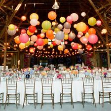 "8""10""12""16"" Colorful Chinese Paper Lanterns Wedding Party Christmas Decoration"