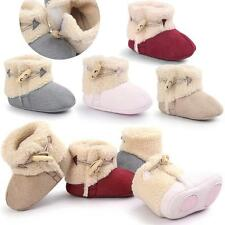 Newborn Baby Boy Girl Warm Soft Sole Snow Boots Cotton Crib Shoes Toddler Boots