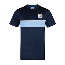 Manchester City Football Club Official Gift Mens Poly Training Kit T-Shirt
