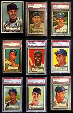 1952 Topps High Number Almost Complete Set VG/EX O2278