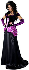 Ladies Sexy Gothic Countess Vampire Halloween Fancy Dress Costume Outfit UK 8-18
