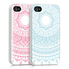 CRYSTAL SILICONE TPU CASE FOR APPLE IPHONE 4 4S IMD DESIGN MOBILE BUMPER COVER
