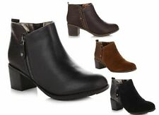 New Sporto RIDE Ankle Boot Bootie Suede or Leather Chic Brown Black or Tan