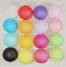 """5 X Chinese Paper Lanterns Wedding Party Decoration Assorted 6"""" 8"""" 12"""" 16"""""""