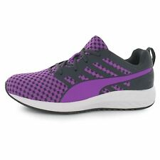 Puma Flare Running Shoes Womens Purple/White Run Fitness Trainers Sneakers