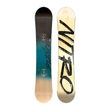 Board Freestyle Snowboard NITRO STANCE and WIDE 2017