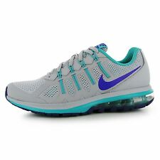 Nike Air Max Dynasty Training Shoes Womens Grey/Purple Fitness Trainers Sneakers