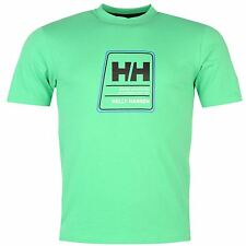 Helly Hansen Heritage T-Shirt Mens Green Top Tee Shirt
