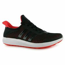 Adidas Climachill Sonic Bounce Running Shoes Mens Black/Red Trainers Sneakers