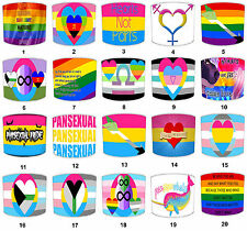 Pansexual, Pansexuality, Gay Lampshades, Fits A Table Lamp Or A Ceiling Light.