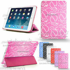 For APPLE iPad 2/3/4 mini Air 2 Pro Smart Magnetic Leather Cover Back Case Stand