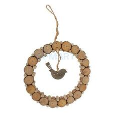 Wooden Annular Love Bird Wedding Home Hanging Decoration