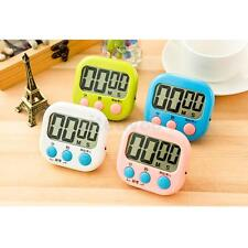 Digital LCD Kitchen Cooking Countdown Timer Baking Stopwatch Alarm Clock