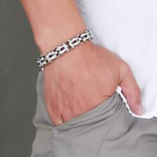 Fashion Jewelry Stainless Steel Bicycle Chain Hand Chain Charm Bangle Bracelet
