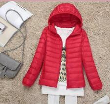 Fashion Women's Ultralight Hooded Down Jacket Puffer.Parka Winter Coat 7Color